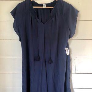 ON Navy Boho Flowy Dress - sz xs